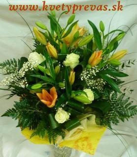 donáška kvetov a kytíc
