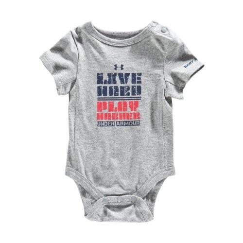 Boys' Newborn UA Live Hard Bodysuit Tops by « Clothing Impulse