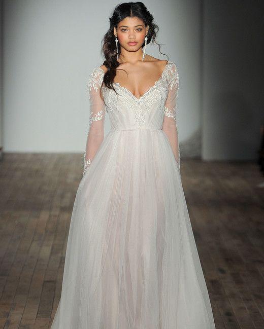 Trendy Jim Hjelm by Hayley Paige Spring Wedding Dress Collection Martha Stewart Weddings u A