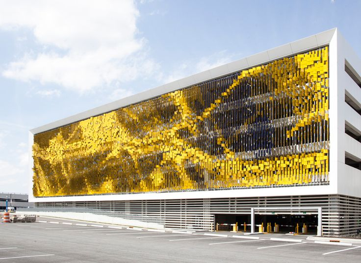Dynamic Facade System At Eskenazi Hospital, Indianapolis By Urbana  Architecture