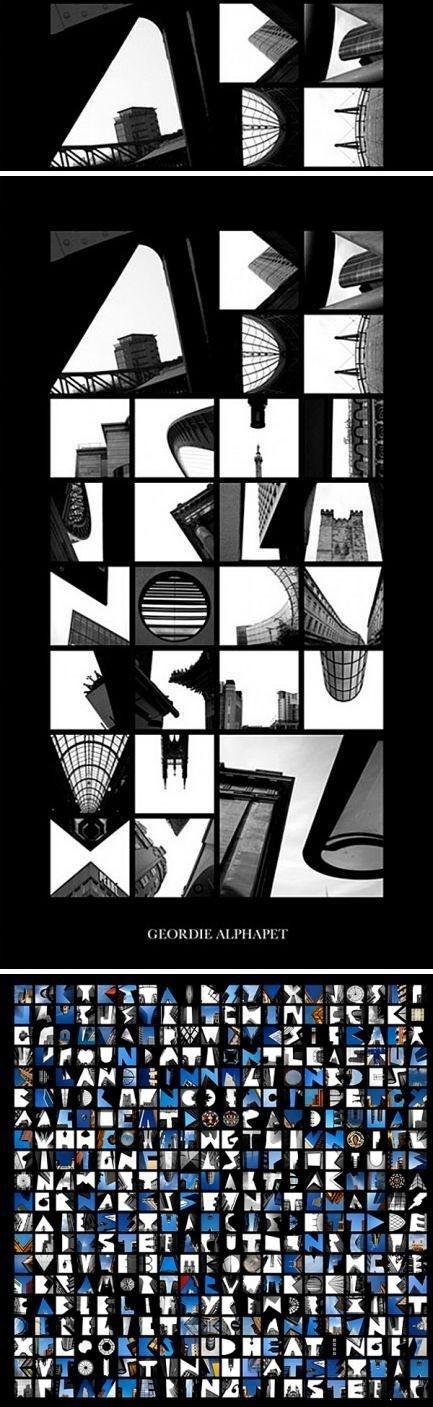 英国摄影师Peter Defty 的大厦字母表