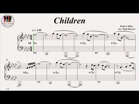 Children - Robert Miles, Piano - YouTube