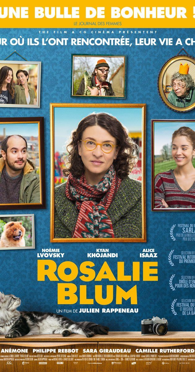 Directed by Julien Rappeneau.  With Noémie Lvovsky, Kyan Khojandi, Alice Isaaz, Anémone. Vincent Machot knows his life by heart. He shares between his hairdressing salon, his cousin, his cat, and his too invasive mother. But life sometimes surprises even the most cautious - He meets up with Rosalie Blum, a mysterious and lonely woman, he is convinced to have already met her. But where? Intrigued, he decides to follow her everywhere, hoping to learn more. He did not suspect that this ...