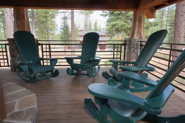 Martis Camp Rocking Chair - eclectic - outdoor chairs - phoenix - Studio V Interior Design