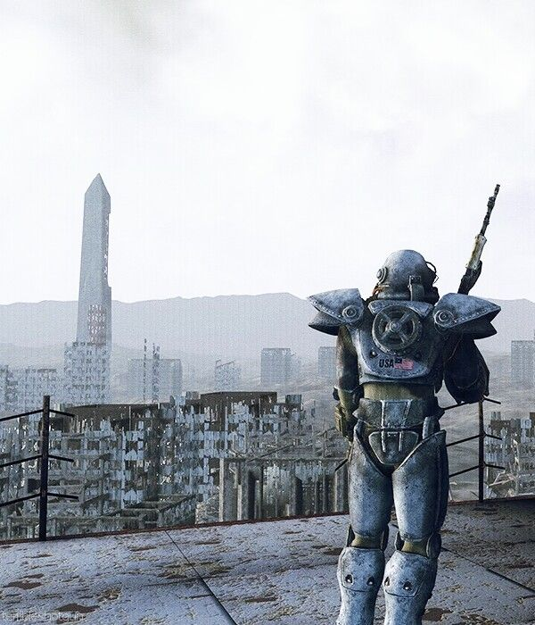 Fallout 3. Follow my board for more Fallout contents! https://www.pinterest.com/hangmen13/fallout-3/