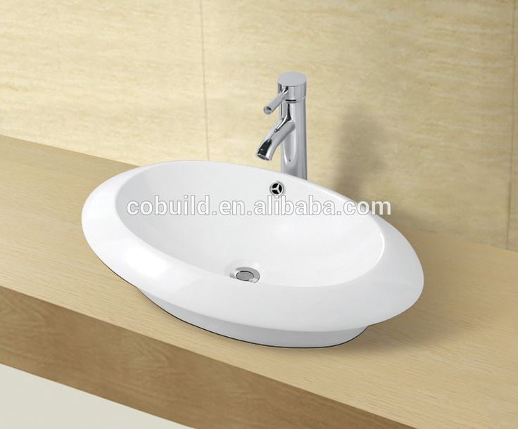CB-45024ファンシーシンク安い浴室トラフシンク洗面台スタンド衛生陶器