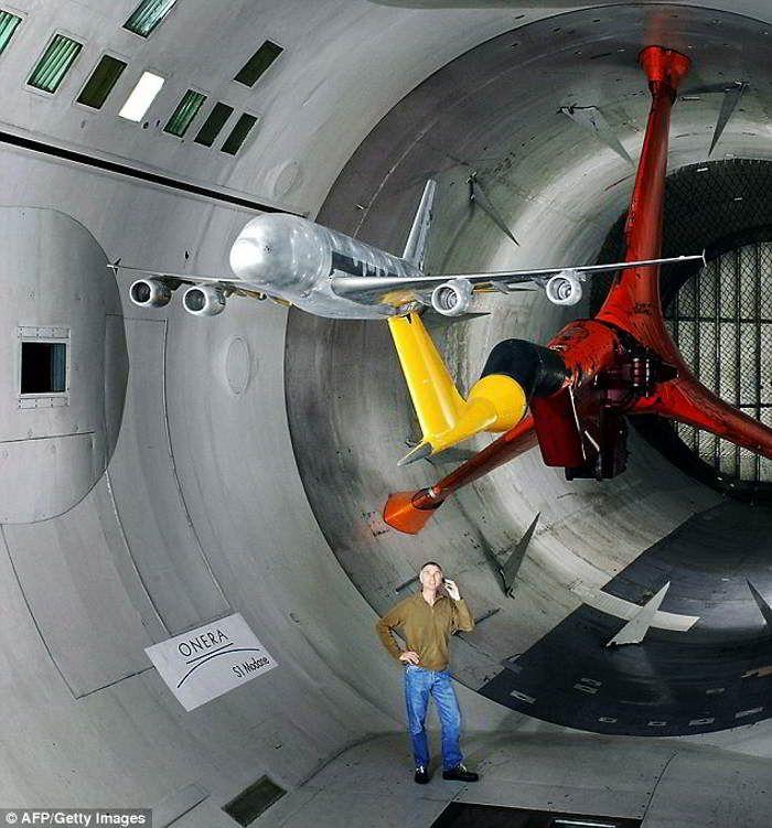World's biggest wind tunnel that tests aircraft to their limit