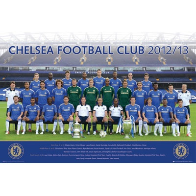 Chelsea FC 2012-13 Team Poster   Chelsea FC Gifts   Chelsea FC Shop