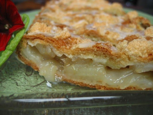 Well technically the pie is only about one foot long.  With the transparent apples ready in our region, the apple peelers are going full t...