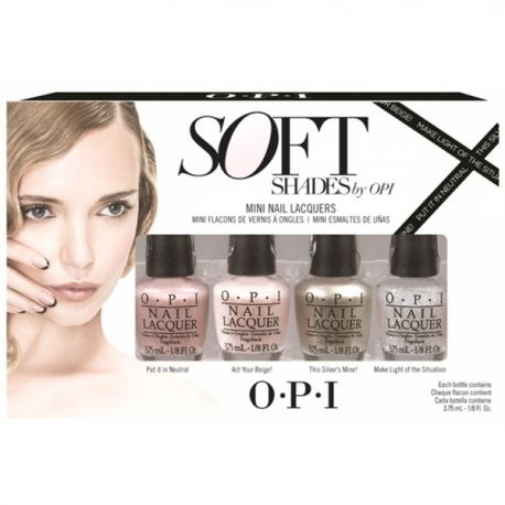 Vernis beige Vernis Mini pack Soft Shades pas cher OPI dans Soft Shades au meilleur prix - Peyrouse Hair Shop boutique en ligne