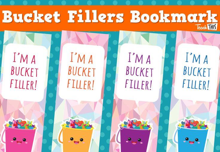 Bucket Filler - Bookmarks