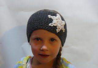 snowflake crochet earwarmer