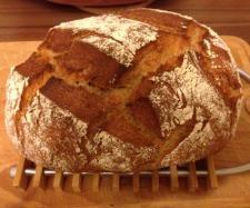 Rezept Dinkel-Roggenbrot aus dem Römertopf von Hase1204 - Rezept der Kategorie Brot & Brötchen