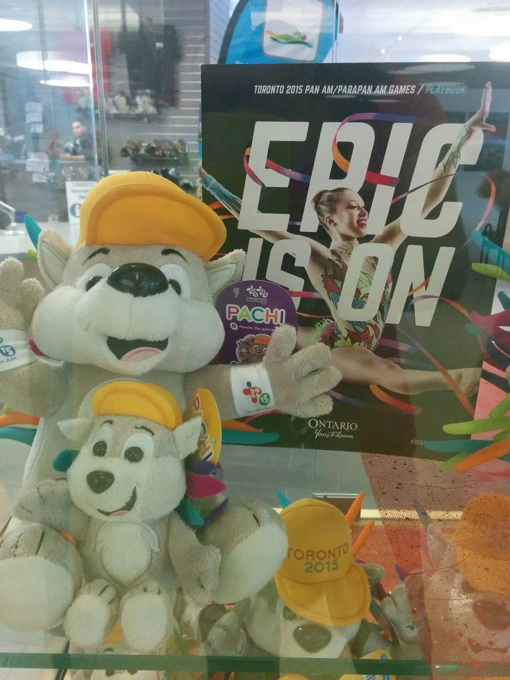 The epic is on! Toronto 2015 Pan Am/Parapan Am Games' mascot, Pachi.
