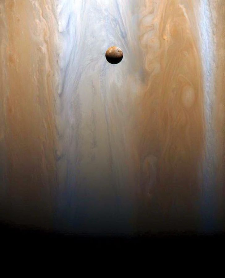 Jupiter's moon Io. Not a painting or CGI.