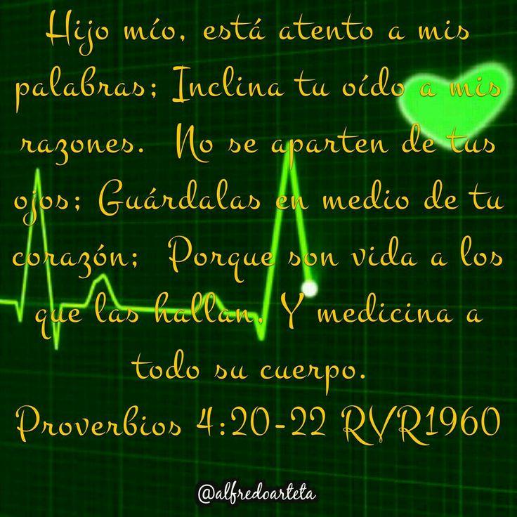 ¡Gracias Señor! Tu palabra es vida y medicina para todo mi ser.
