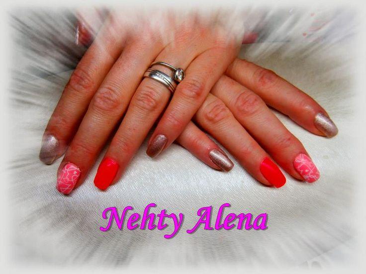 nail design, lesk, matt, razítko