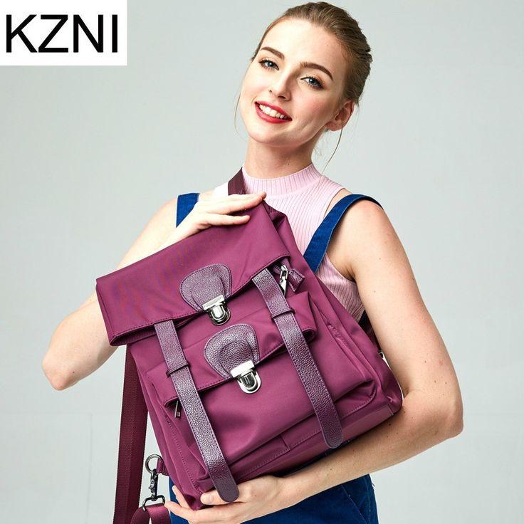 54.92$  Know more - http://ai9fm.worlditems.win/all/product.php?id=32786093842 - KZNI genuine leather shoulder strap bags for women excellent shoulder bag bolsas femininas bolsas de marcas famosas L123114