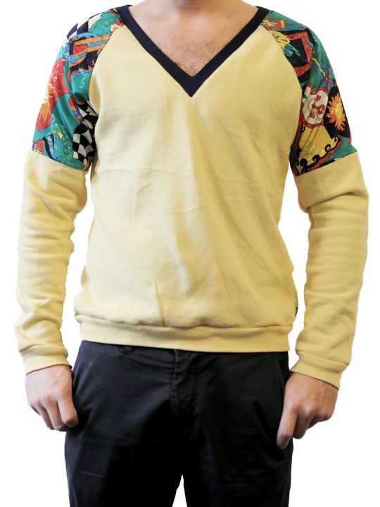 EYECANDY - this is a Payback Sweater, the hipster present for your so-not-hipster friend - nicely wrapped, it will trick them to believe that you care about his looks - yes, you do: take revenge!