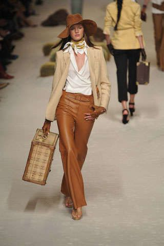 High Class Cowgirl Fashion: Hermes Spring 2009