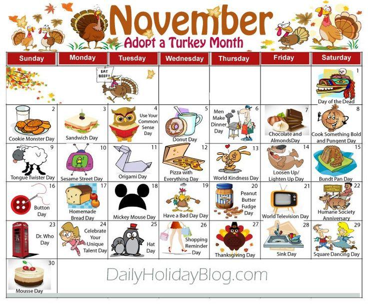 November Calendar Ideas : The best weird national holidays ideas on pinterest