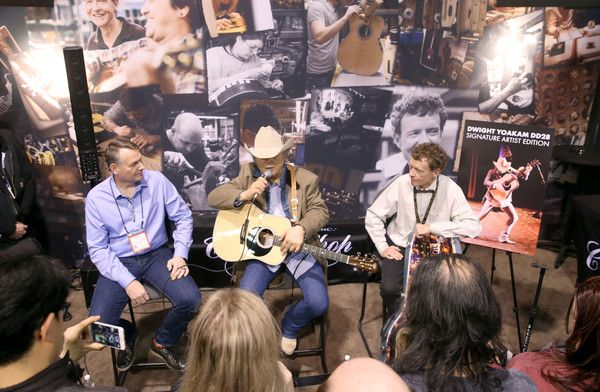 Singer-songwriter Dwight Yoakam attends the 2017 NAMM Show Opening Day at Anaheim Convention Center on January 19, 2017 in Anaheim, California.