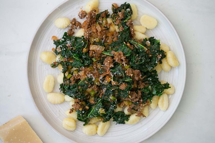 Get the flavor of sausage without all the fatin this recipe for gnocchi with kale sausage by Cook Smarts.This rustic Italian dish combines pillowy gnocchi with a savory, flavorful sausage. Gnocch...