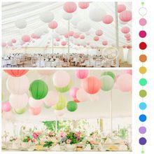 """10""""( 25cm) chinese papieren lantaarn 10pcs/lot, ronde lamp, bruiloft decor glim…"""