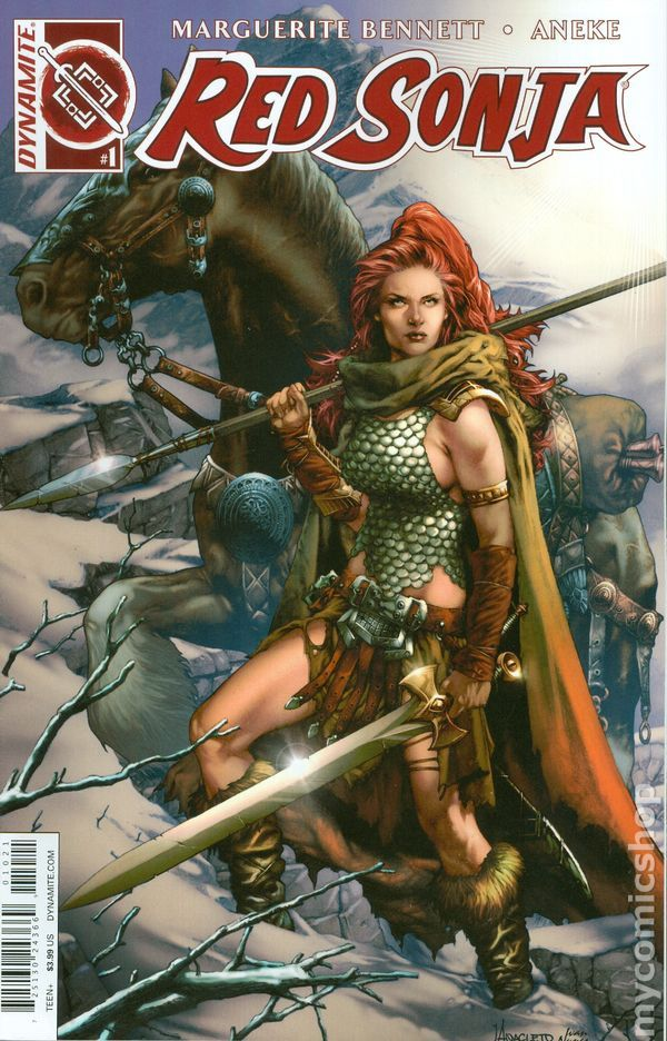 Red Sonja Volume 3 #1B