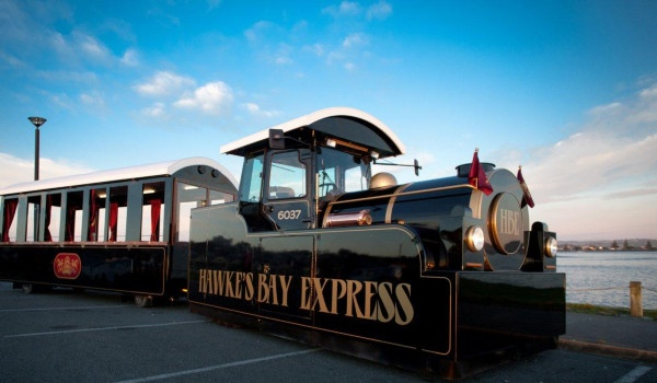 A delightful wee snap of the Hawkes Bay Express, looking forward to the holidays to going and having a ride on the express!