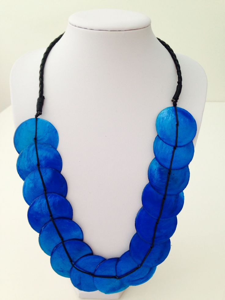 Beautiful blue shell necklace $10, go to www.melikeshoes.com.au (We always do free shipping)