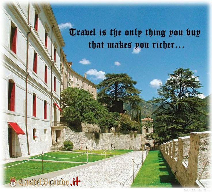 #Viaggiare è l'unica cosa che compri e che ti arricchisce... #quote #quoteoftheday #citazione #travel