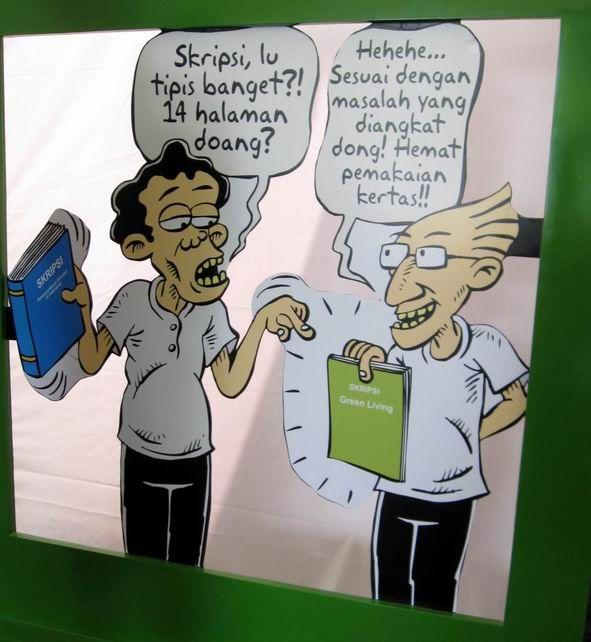 Kartun Benny & Mice: Green Fest - Hemat Kertas