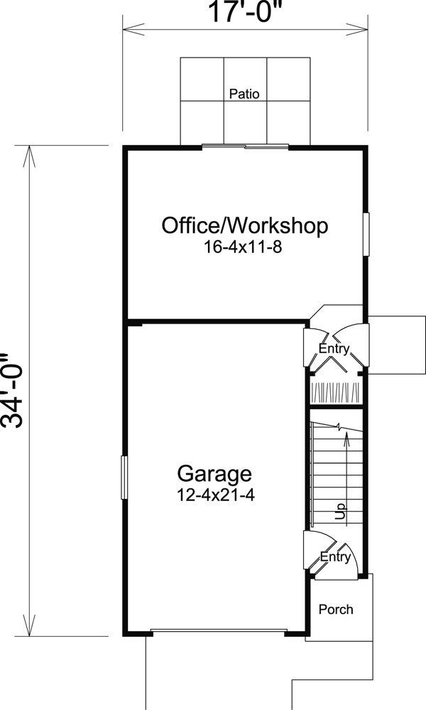 24 best Tandem Garage Plans images on Pinterest Tandem Garage