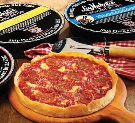Lou Malnati's Tastes of Chicago Ship a pie to any where in continental US.