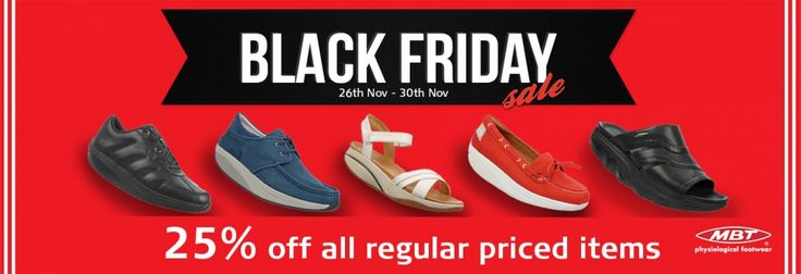 MBT AU has come up with an exciting eye-popping Black Friday Sale, where you get to buy any regular priced shoe at 25% off on MBT AU Official Online Store.This offer remains valid from 26th Nov to 30th Nov, 2015.Shop Now
