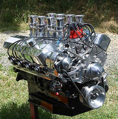 big baddass engines | 545 Ford stroker engine