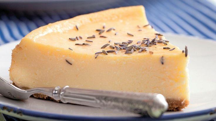 Limetkový cheesecake s levanduľou | Recepty.sk