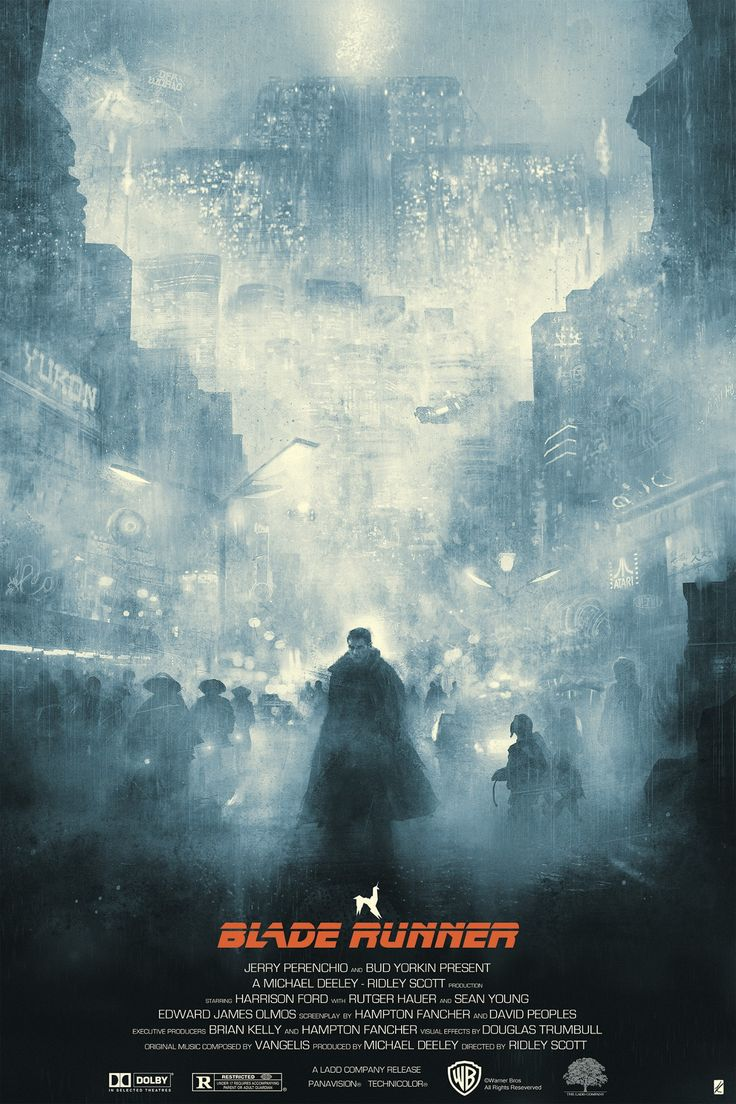 Blade Runner - Blue Rain by Karl Fitzgerald