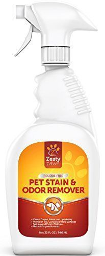 Zesty Paws Pet Stain and Odor Remover Carpet Spot Cleaner and Odor Eliminator f #CatSprayingOdorRemoval