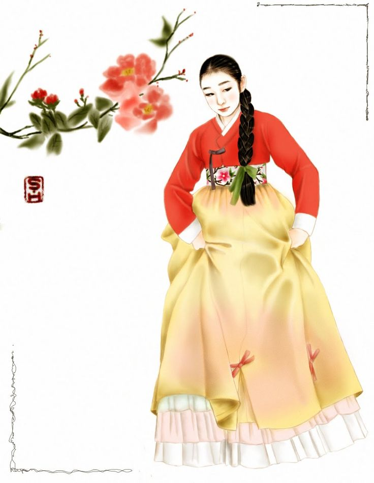 Hanbok (한복) : Traditional dress of Korea...by Amornbyj