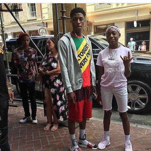 Nba Youngboy On Instagram 4ktrey Slatt Slatt Undergroundrap Hiphopheads Soundcloudrappers Hotnewh Nba Outfit Nba Baby Cute Outfits