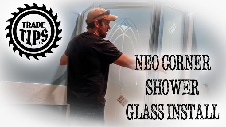 How To Assemble And Install A Shower Glass Door Kit In This Video We Ll Use A Koehler Ste Glass Shower Glass Shower Doors Shower Doors