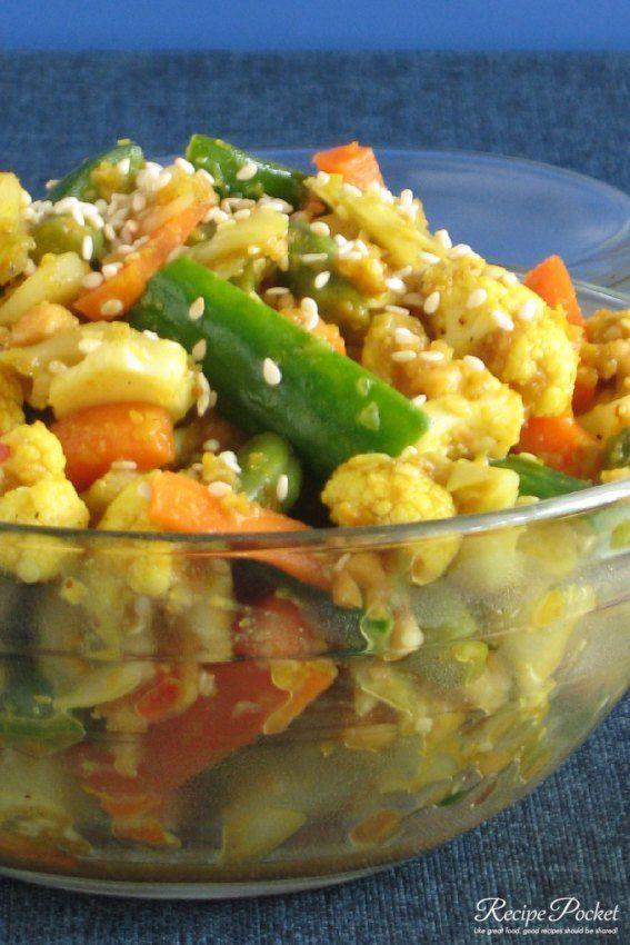 Easy Vegetable Achar Pickle Recipe In 2020 Best Vegetarian