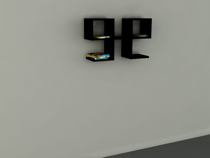 Vita Duvar Rafı Siyah  64,00 TL