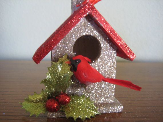 83 best images about CHRISTMAS - BIRDHOUSE on Pinterest ...
