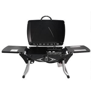 Going on a picnic? Portable Barbeque Gas Grill With Regulator - Mini Barbeque #outdoors #picnic #bbq #portablebbq