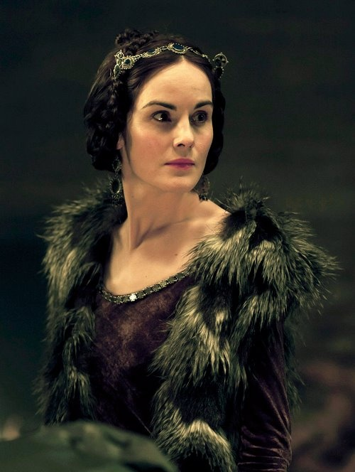 Lady Percy (aka the Long Suffering Mrs. Hotspur) in The Hollow Crown (Michelle Dockery).