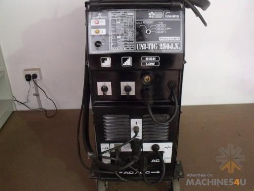 Used Unimig Tig Welders for sale - UNITIG 250 JN - $990*