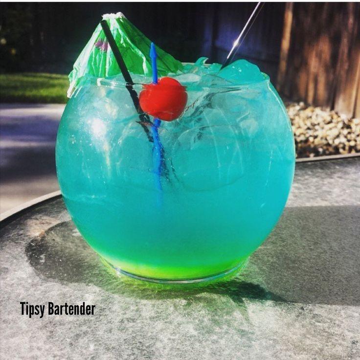 96 best jungle juice fish bowls images on pinterest for Fish bowl drink tipsy bartender